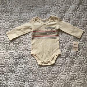 🎈2/25🎈Indigo 6-12 months long sleeve onesie